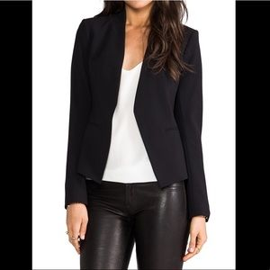 THEORY Lanai Open Blazer Black size 0